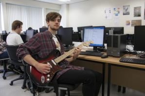 Code is music to the ears of York College student