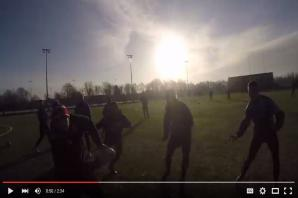 VIDEO: watch pro rugby league training sessions through the eyes of a player